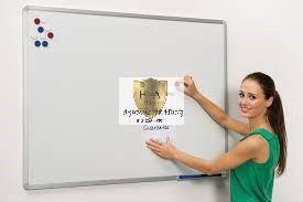 Aluminium frame white board 4x8 ANTA N PASANG