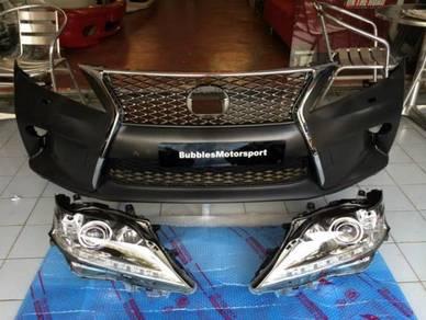 Lexus RX350 facelift OEM F-sport front conversion