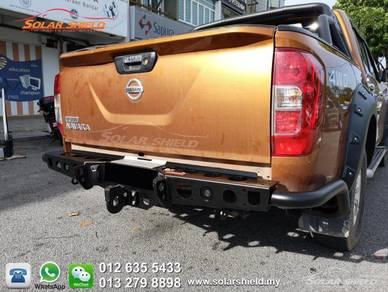 Nissan Navara 4X4 Rear Bumper Heavy Duty
