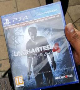 Uncharted 4: A Thief's End - PLAYSTATION 4 (PS 4