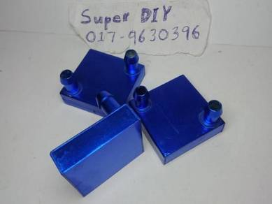 Aluminium water cooling block heatsink liquid cool