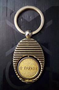 ABKSS-P001 Stainless Silver Gold Parker Key chain