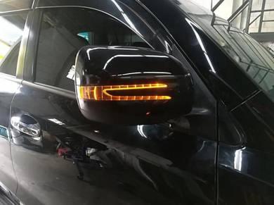 Land cruiser FJ200 side mirror cover LED