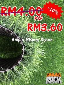 Artificial Grass / Rumput Tiruan 35mm Green 71