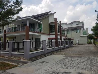 Double Storey Terrace End Lot Nusari Aman For Sale Bandar Sri Sendayan