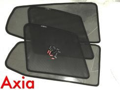 Perodua axia sun shade with clip 4 pcs