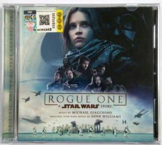 CD Rogue One Star Wars Story Music Soundtrack