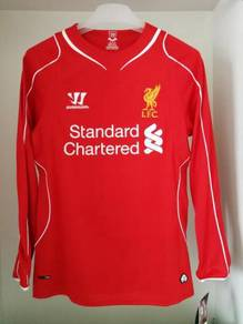 Original Liverpool 2014 Long Sleeve Jersey Jersi