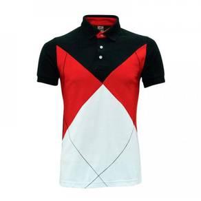 Baju Tshirt POLO Lacoste Red/Black/White L1000