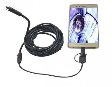 Android tune camera kecil pipe with led