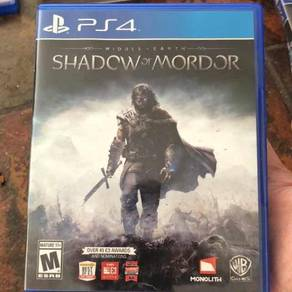 Middle Earth Shadow Of Mordor - PS 4 Game
