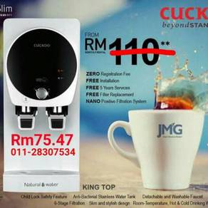 Penapis Air CUCKOO Water Filter Penang 1