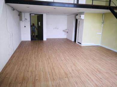 Vinyl Floor Lantai Timber Laminate PVC Floor Z305