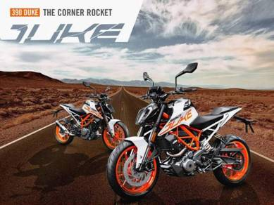 New ktm duke 390 (BAD payment record BOLEH apply)