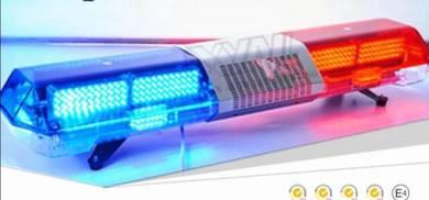 Led emergency strobe light siren square long