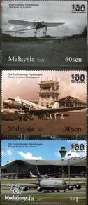 Mint Stamps 100 Years Aviation Malaysia 2011