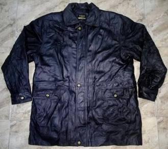 Jacket Genuine Leather F. Concept Men Gold