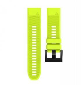 Garmin Fenix 5 & 5X Yellow Green QuickFit OEM Band