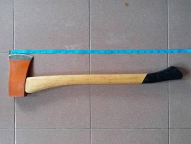 SANDVIK Sweden Axe Kapak NEW pisau kayu levis eye
