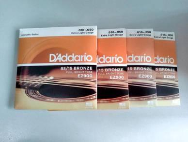 D'Addario 010-050 Acoustic Guitar String - EZ900