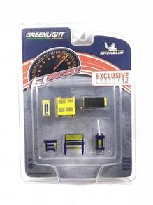 Greenlight Muscle Tool Set Michelin Tires #13161