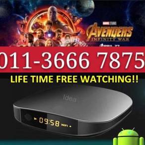 LIVETIME Android Uhd Tv allSTRO new iptv box