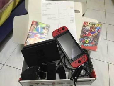 Nintendo switch marion edition