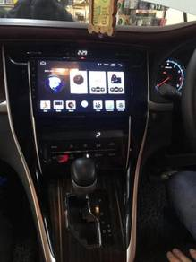"""Toyota harrier 2014-2019 9""""android player1"""