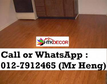 Natural Wood PVC Vinyl Floor - With Install DF26