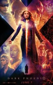 Poster MOVIE Dark Phoenix (2019)