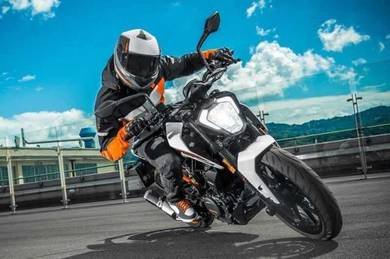 KTM duke 250 (new)(bad payment record BOLEH apply)
