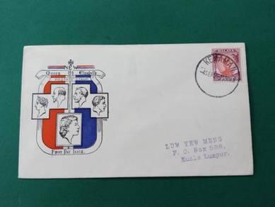 Fdc pahang 1955 b366
