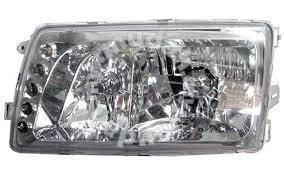 Benz w126 crystal head lamp chrome