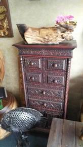Aipj Handmade teak wood cabinet