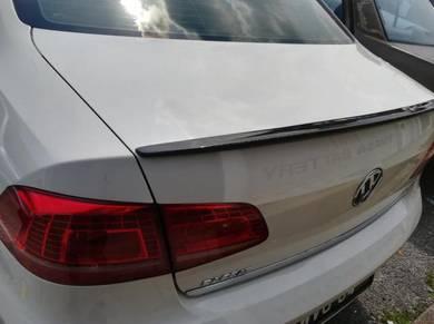 VW Passat B7 Rear Carbon spoiler
