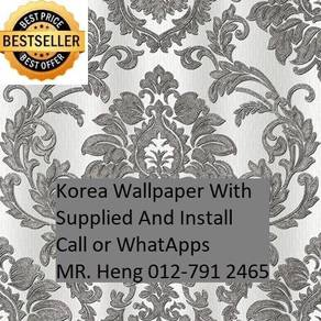 Classic Wall paper with installation J118X