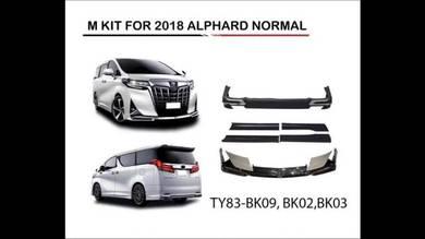 Toyota alphard vellfire 2018 modellista bodykit pp