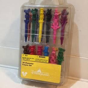 Original Disney 24x Characters Crayon Set