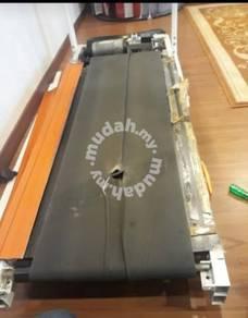Treadmill running belt & drive belt