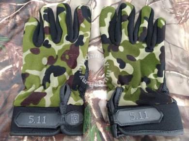 5.11 camo glove