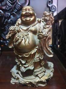 Vintage laughing buddha with amazing details SLG