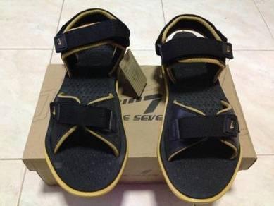 Sandal Line 7 Black Color size 43