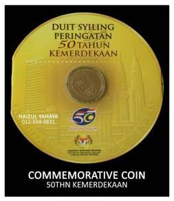Syiling Peringatan - 50 Tahun Merdeka (2007)