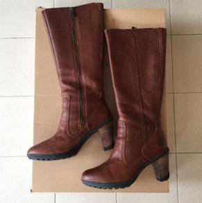 Timberland Womens Leather Cowboy Cosplay Boots