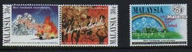 Mint Stamp International Antidadah Malaysia 1996