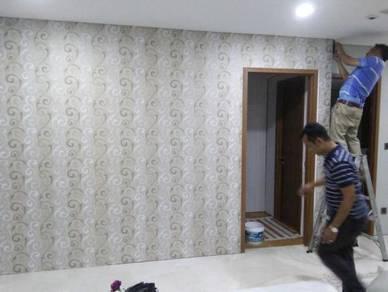 PASANGKAN WALLPAPER l install labour wallpaper