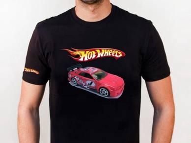 Tshirt Baju HOT WHEELS HW5 TSV Siap Pos Laju