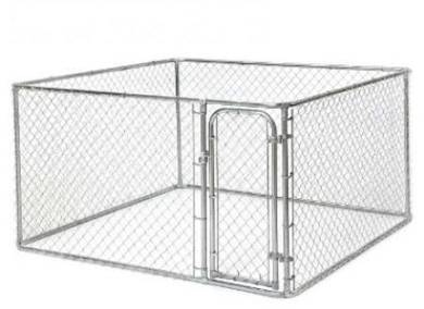 Chain Link Storage Cage 4x4x4ft