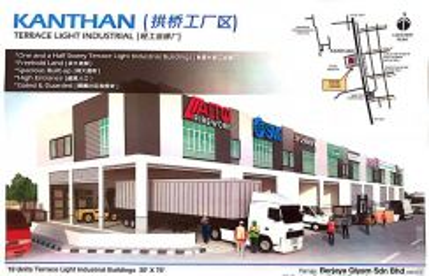 New factory Chemor Khantan mainroad