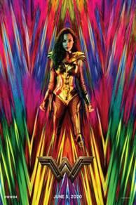 Poster MOVIE WONDER WOMEN 2020 SAIZ A 1